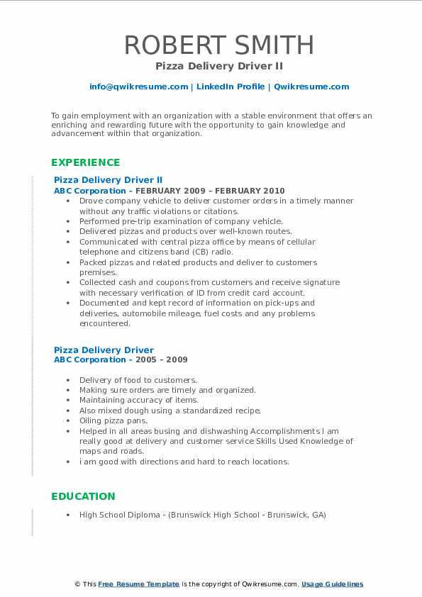 pizza delivery driver resume samples qwikresume dominos job description for pdf labor and Resume Dominos Delivery Driver Job Description For Resume