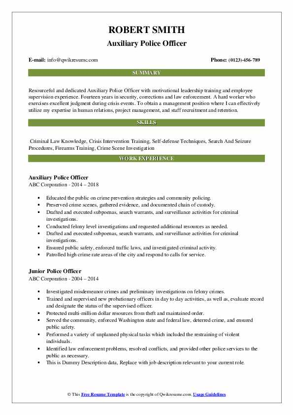 police officer resume samples qwikresume objective statement pdf blank form free Resume Police Officer Resume Objective Statement