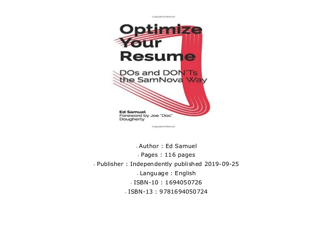popular optimize your resume dos and don ts the samnova way popularoptimize oracle Resume Resume Dos And Don Ts 2019