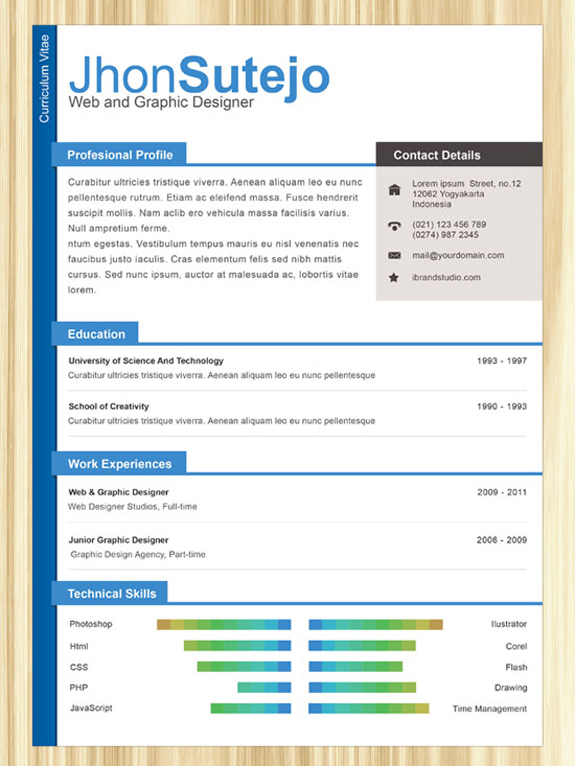 premium and free resume templates the design work template professional one examples for Resume Cascade Resume Template Free Download