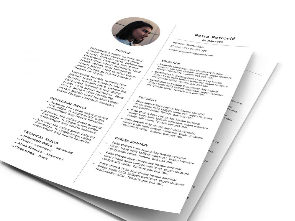 print ready resume template free resumekraft readymade format 1000x750 describing Resume Free Readymade Resume Format