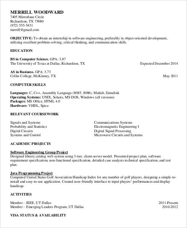 printable resume template free word pdf documents premium templates format for Resume Printable Format For Resume