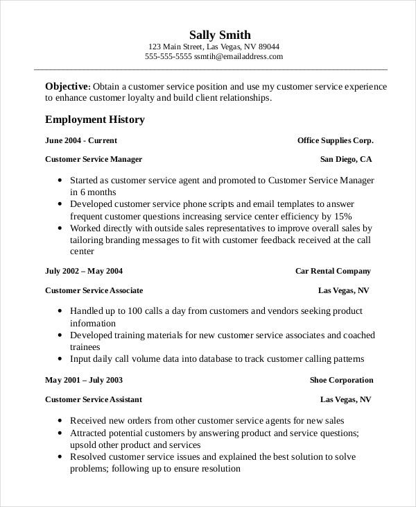 professional customer service associate resume template manager are you job samples Resume Customer Service Associate Resume