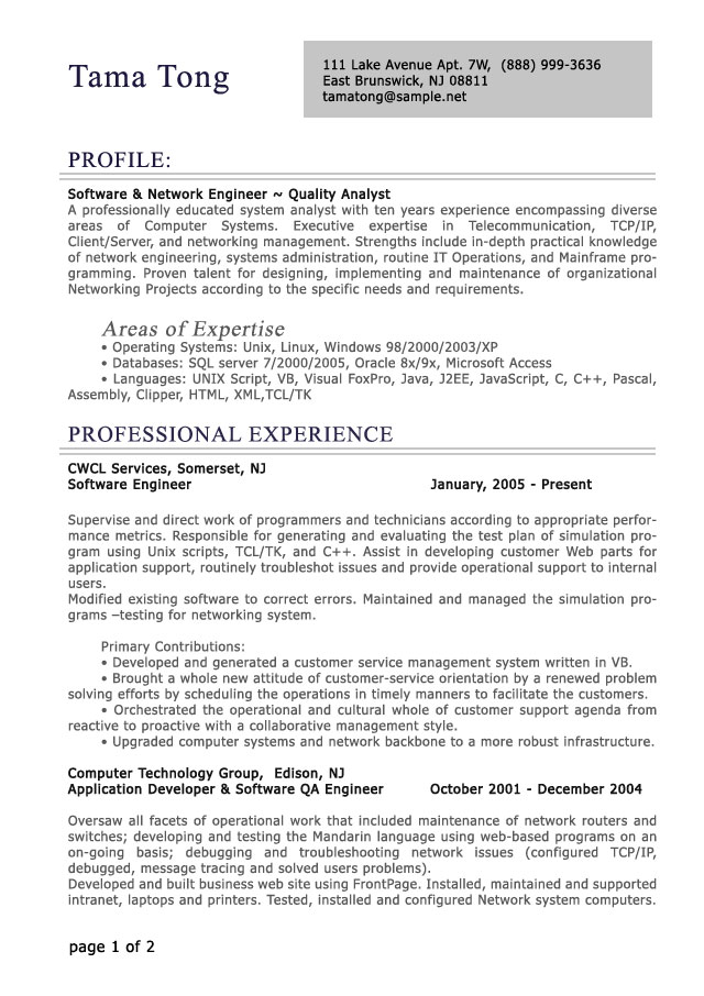 professional level resume samples resumesplanet template for experienced res proff sample Resume Resume Template For Experienced Professional