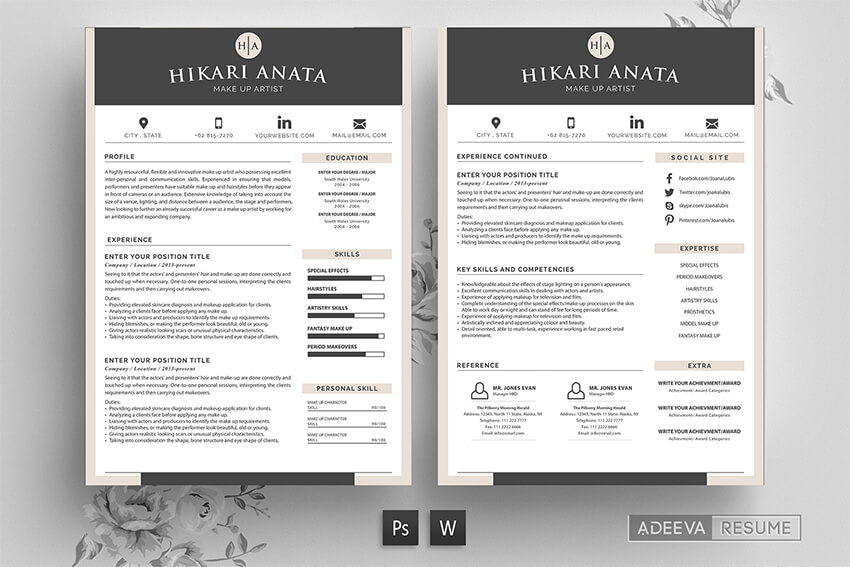 professional ms word resume templates simple cv design formats high quality template Resume High Quality Resume Templates
