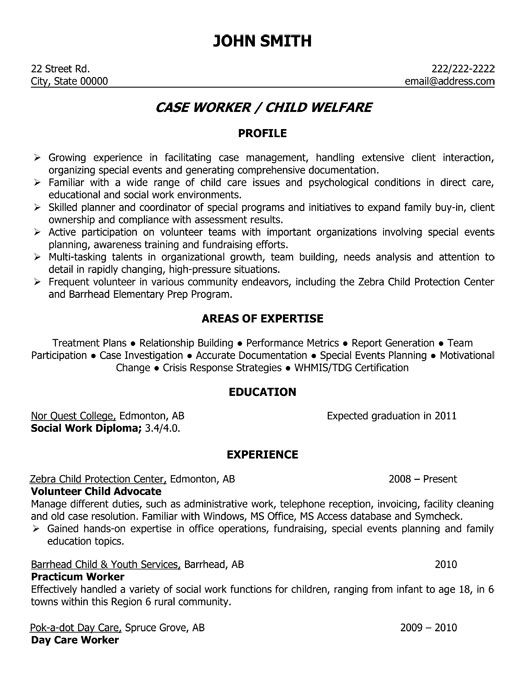 professional resume for social servic family support worker ii care career goal statement Resume Foster Care Social Worker Resume