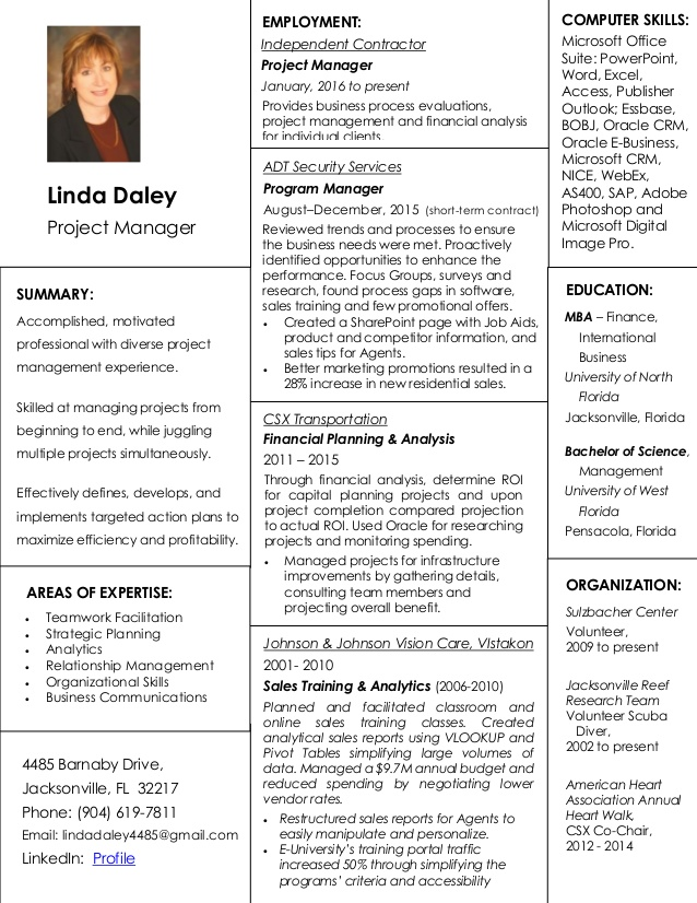 project manager resume education mckinsey sample for recent college graduate criminal Resume Education Project Manager Resume