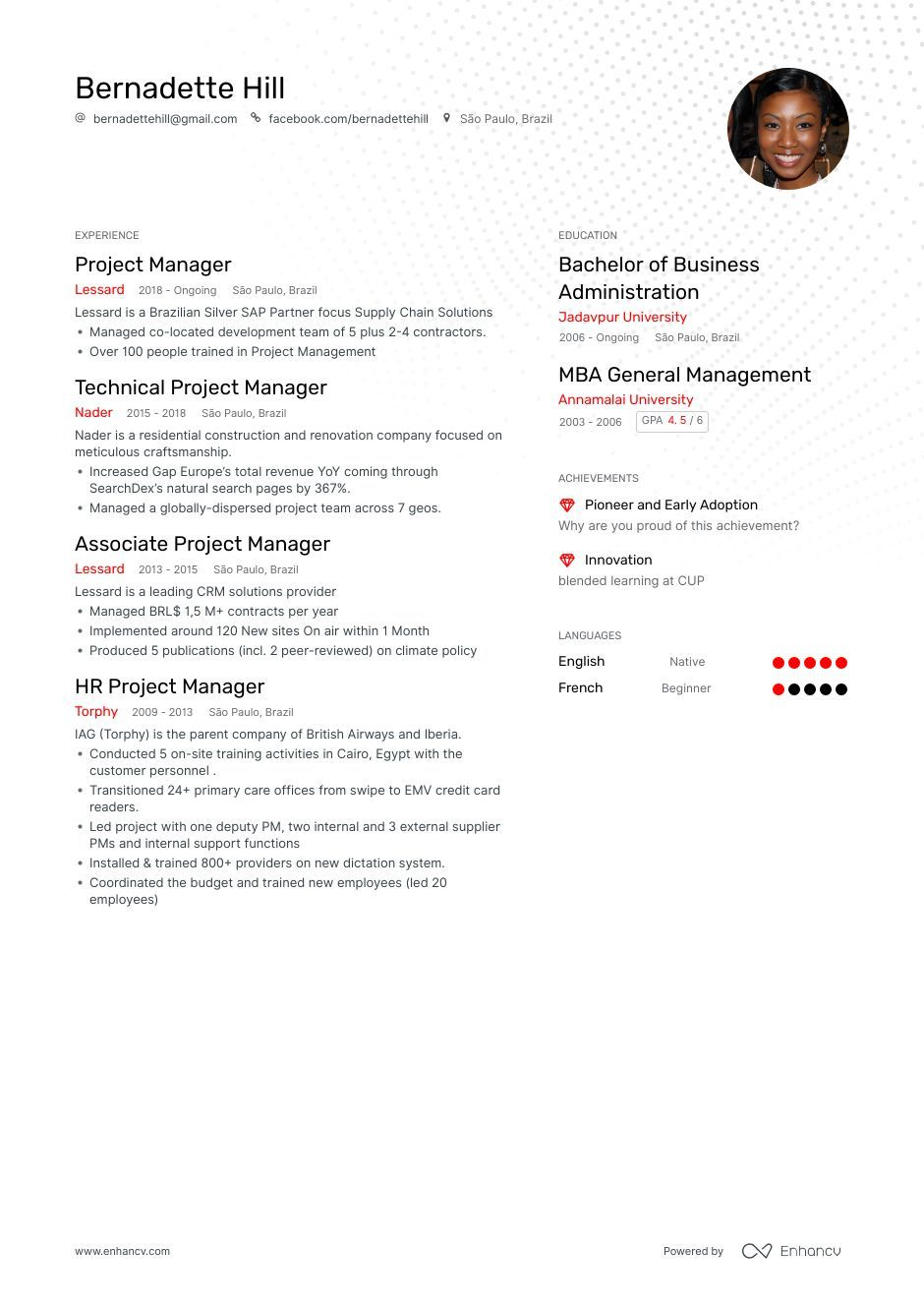 project manager resume example and guide for job examples writing career summary generic Resume Project Manager Resume 2020
