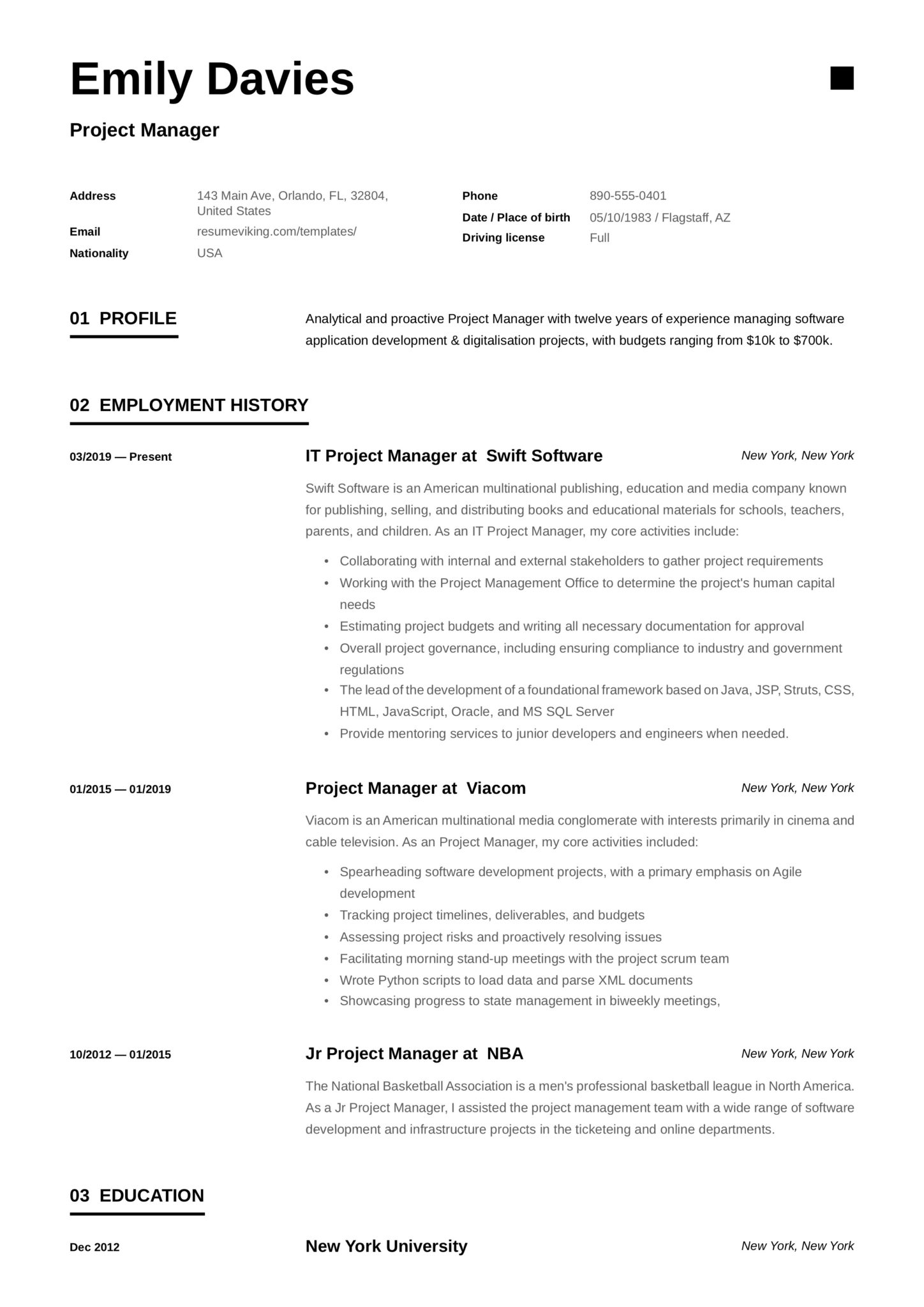 project manager resume examples full guide pdf word healthcare scaled with one company Resume Healthcare Project Manager Resume
