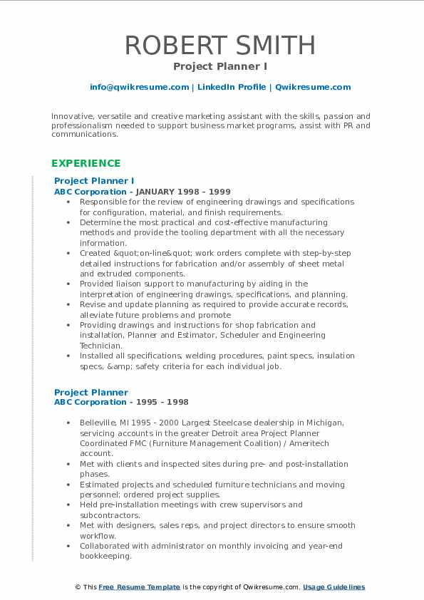 project planner resume samples qwikresume primavera pdf for practicum student counseling Resume Primavera Project Planner Resume