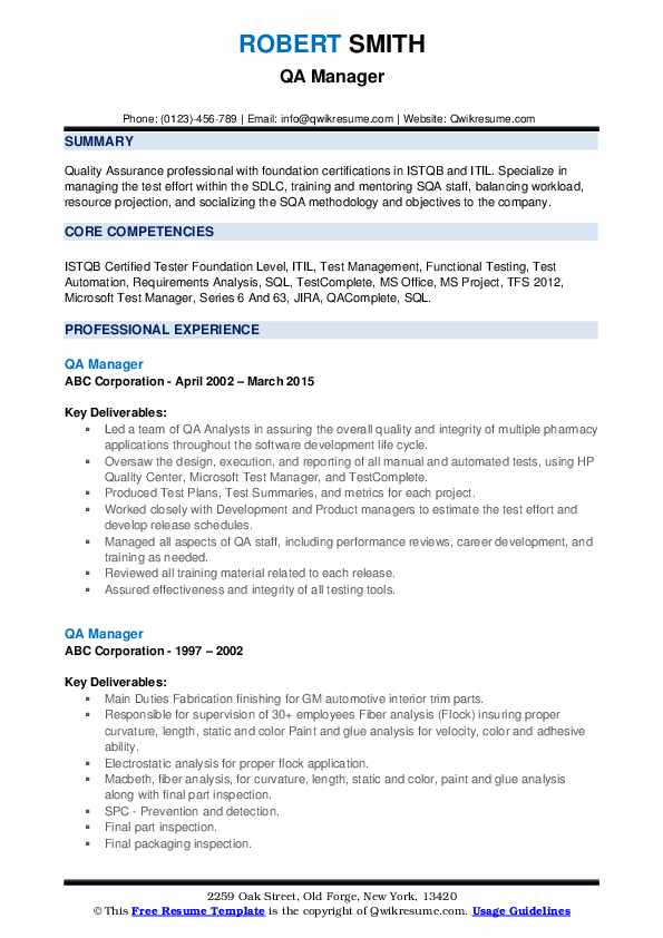 qa manager resume samples qwikresume istqb certified tester with logo pdf reverse Resume Istqb Certified Tester Resume With Logo