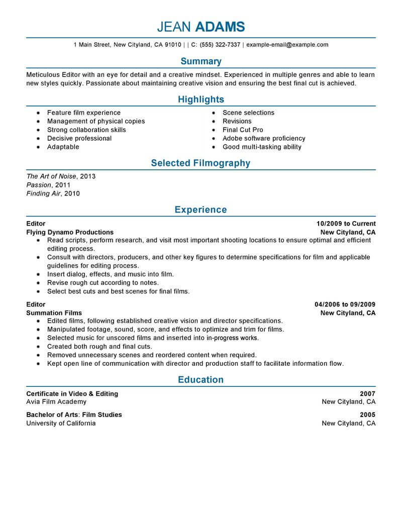 quality assurance specialist resume example livecareer experience media entertainment Resume Quality Assurance Experience Resume