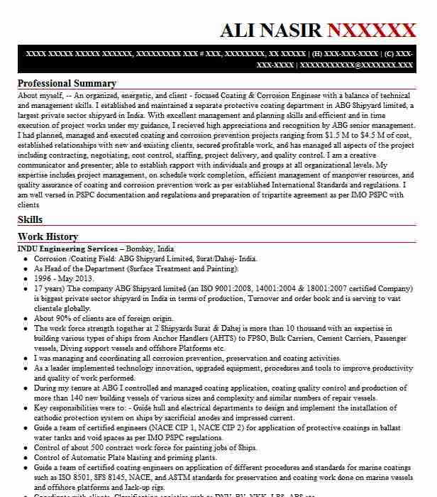 quantity surveyor resume example construction co civil does being marine look good on Resume Civil Quantity Surveyor Resume