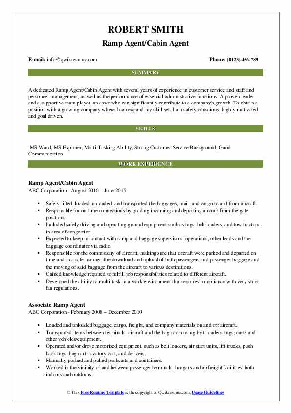 ramp agent resume samples qwikresume for airport pdf experienced patient care technician Resume Resume For Airport Ramp Agent