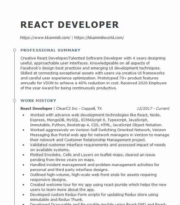 react native developer resume example jean yves jacaria new dunkerque film assistant Resume React Native Resume Example