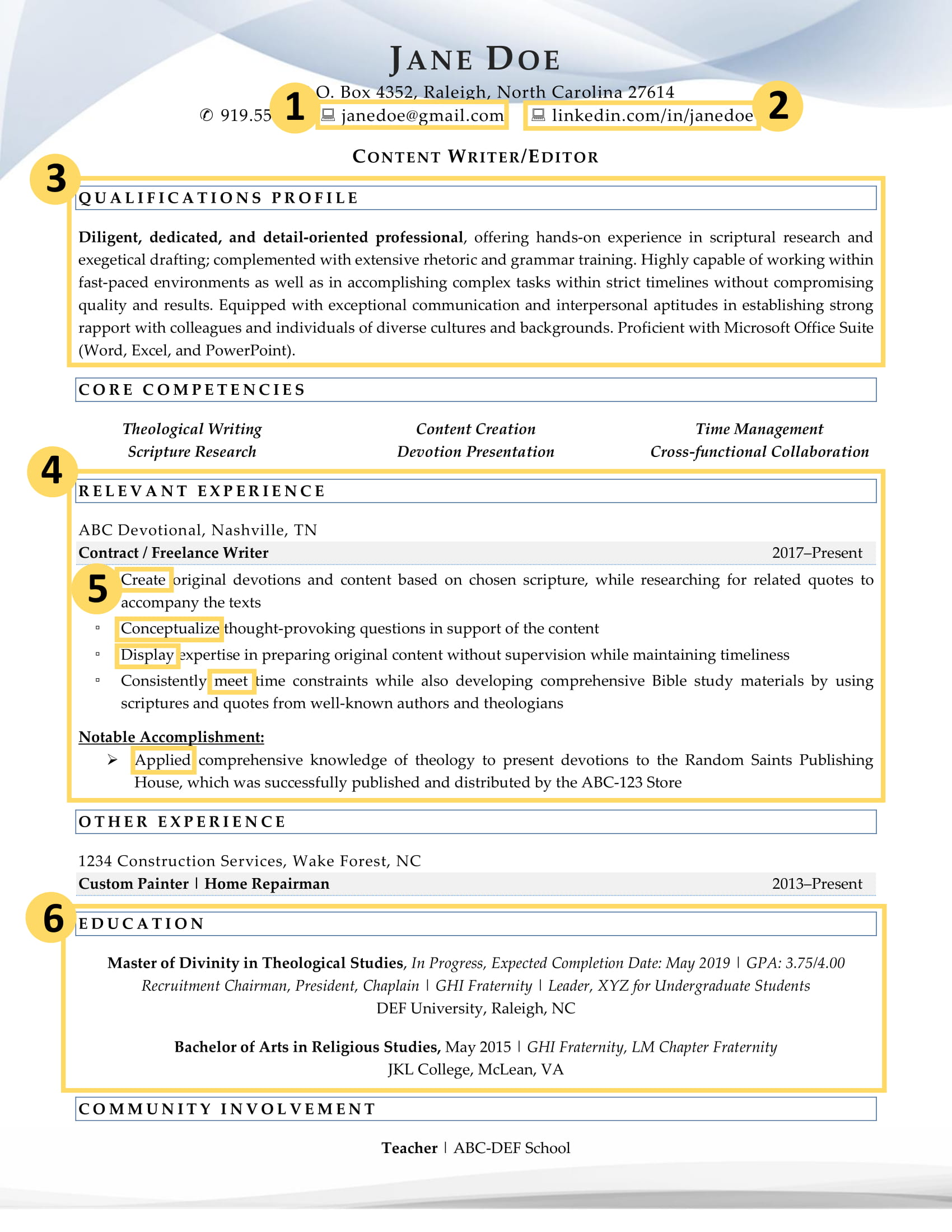recent college graduate resume factors that make it excellent format for example labeled Resume Resume Format For Recent College Graduate