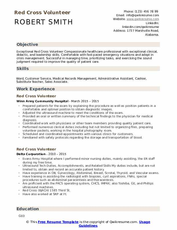 red volunteer resume samples qwikresume objective pdf accounts payable summary for Resume Volunteer Resume Objective
