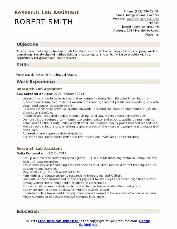 research lab assistant resume samples qwikresume laboratory pdf aircraft structural Resume Laboratory Research Assistant Resume