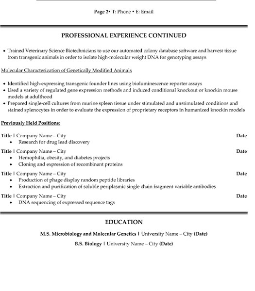 research scientist resume sample template for position p2 internal audit examples retail Resume Resume For Research Position