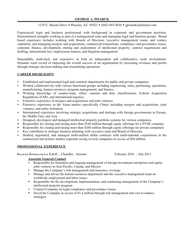 resume additional experience as business legal professional on food service worker local Resume Additional Experience On Resume