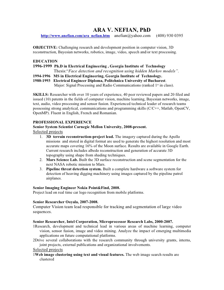 resume computer vision engineer job template word sentence starters references available Resume Computer Vision Engineer Resume