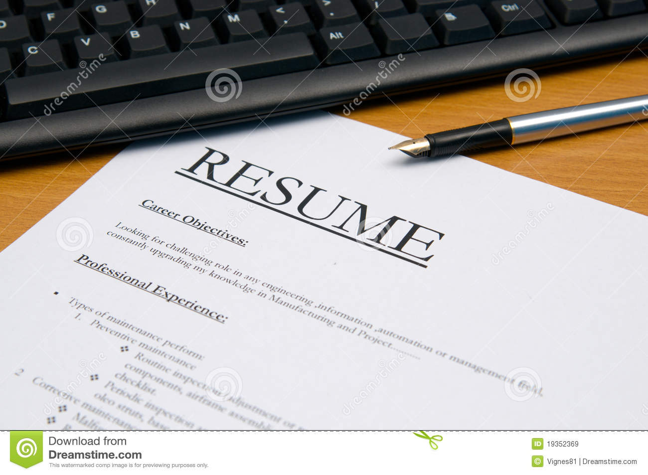 resume cv stock image of qualified history graduate free photos eye catching samples Resume Free Stock Photos Resume
