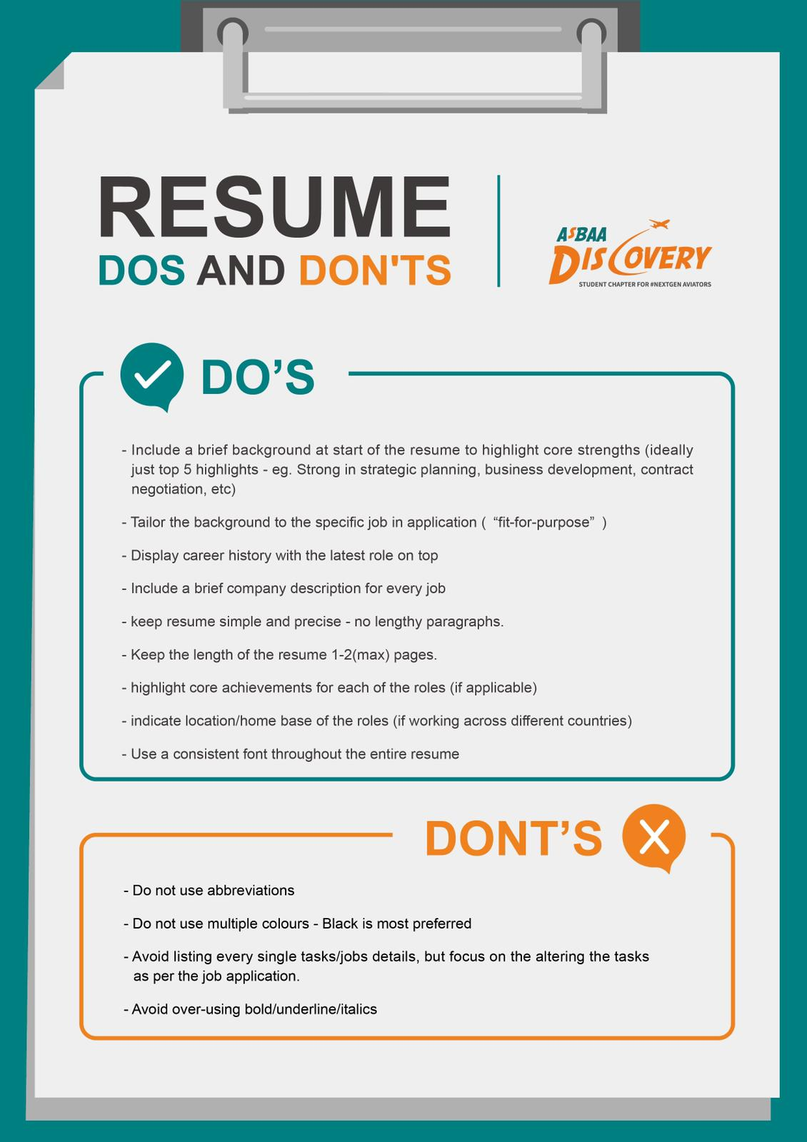 resume do and don ts asbaa dos whatsapp image at pm supervisor health care aide sample Resume Resume Dos And Don Ts 2019