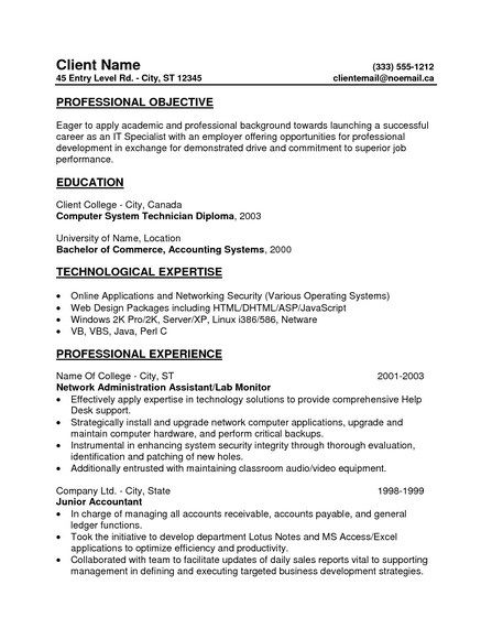 resume example in objective statement examples profile general entry level tips create Resume General Entry Level Resume Objective