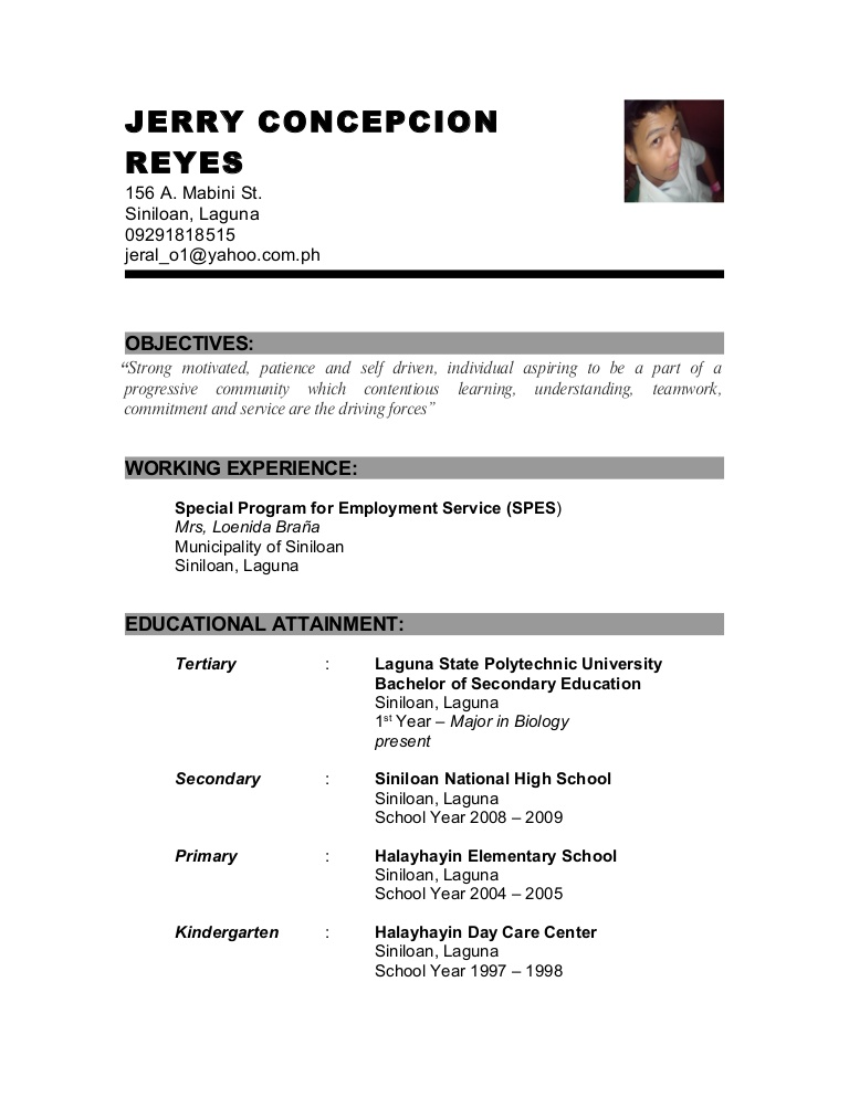 resume example of for criminology phpapp01 thumbnail skills and abilities medical Resume Example Of Resume For Criminology