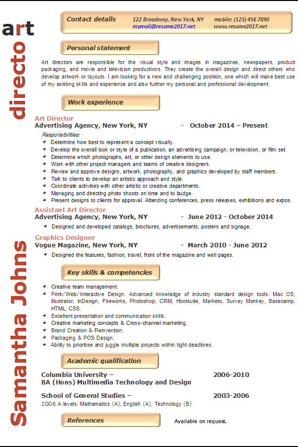 resume examples art director keywords for example management writing services best recent Resume Keywords For Art Director Resume
