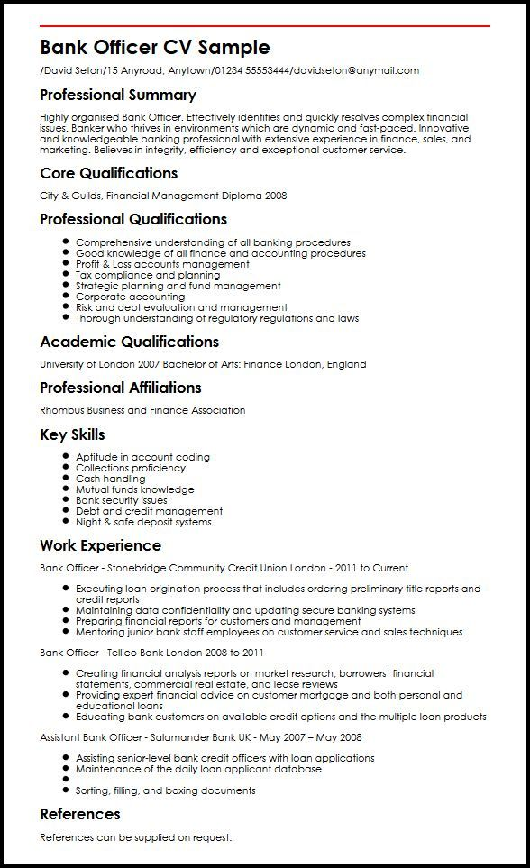 resume examples banking good bank jobs job albuquerque service computer science mulesoft Resume Banking Resume Examples