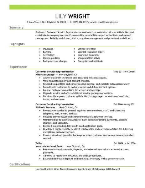 resume examples customer service free security clearance on marketing manager mysql Resume Free Resume Examples 2018
