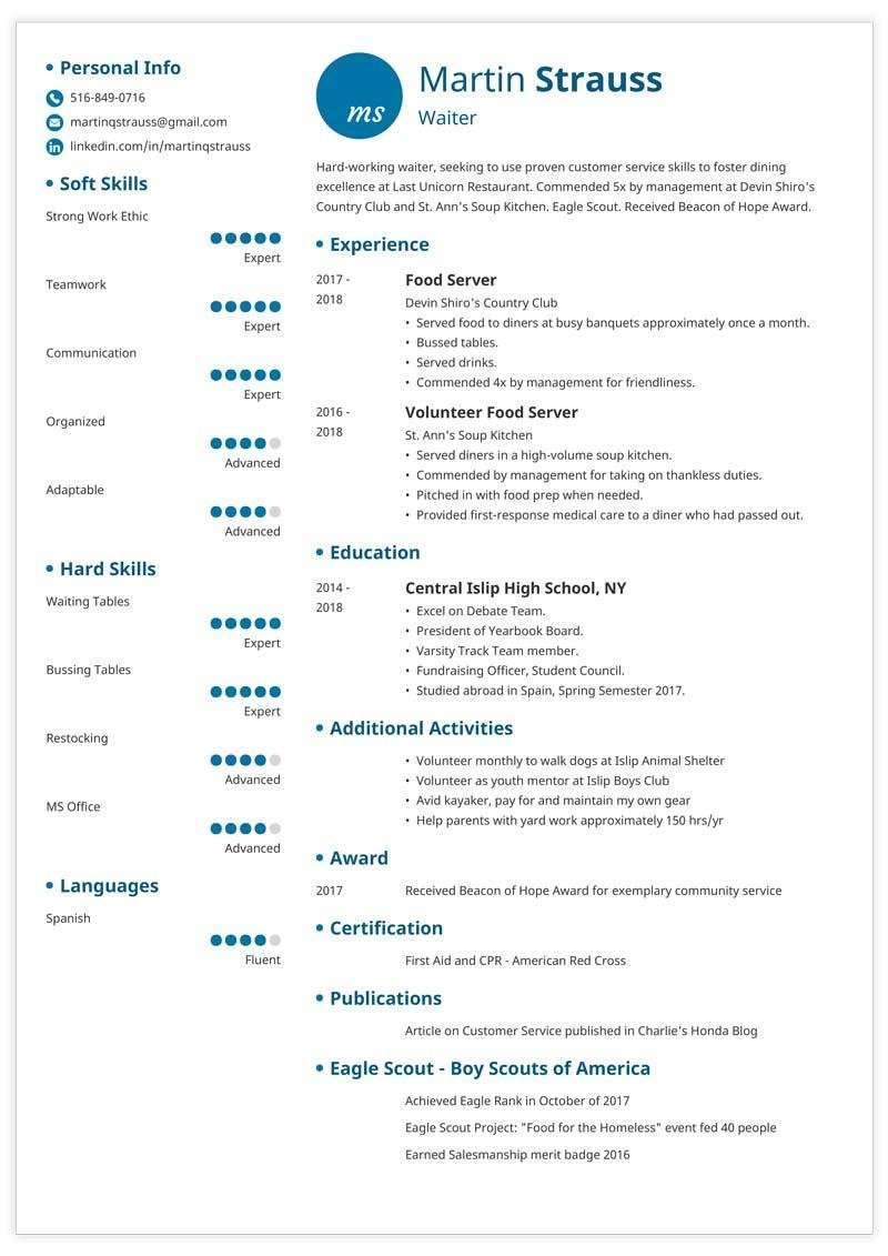 resume examples for teens templates builder guide tips scout questionnaire form teen Resume Eagle Scout Resume Questionnaire Form