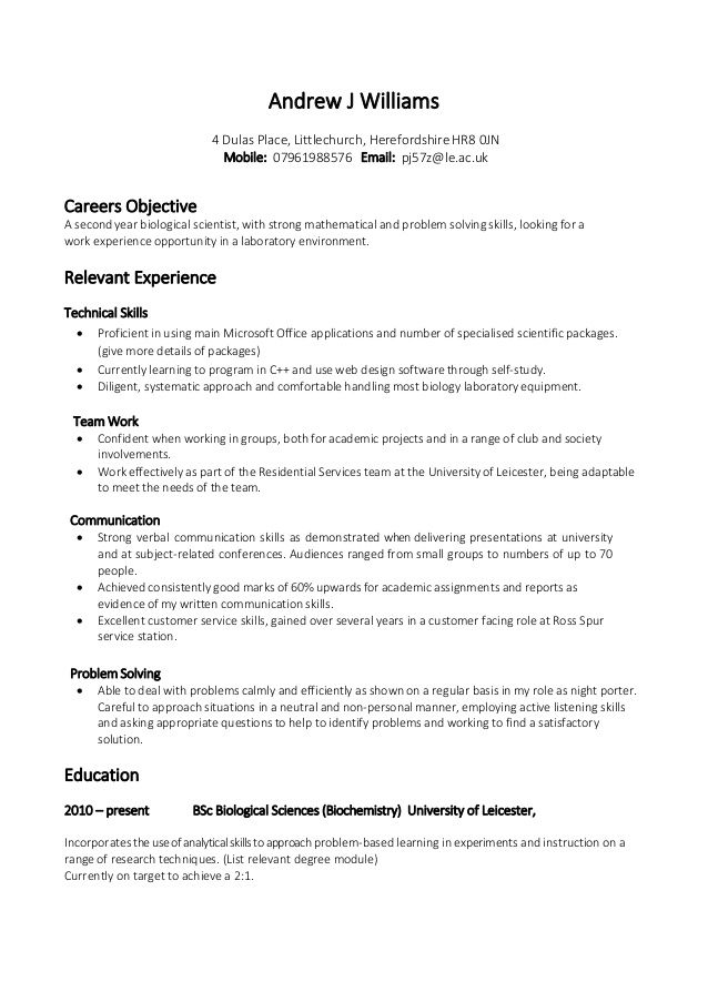 resume examples with skills section template word neutral objective open office reddit Resume Neutral Resume Objective