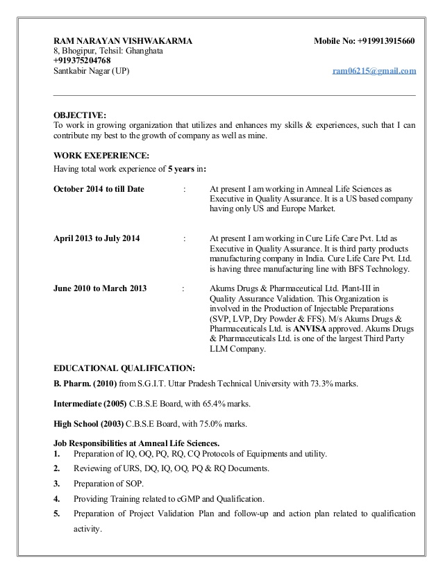 resume for validation injectable cleaning photography internship another word assisted on Resume Cleaning Validation Resume