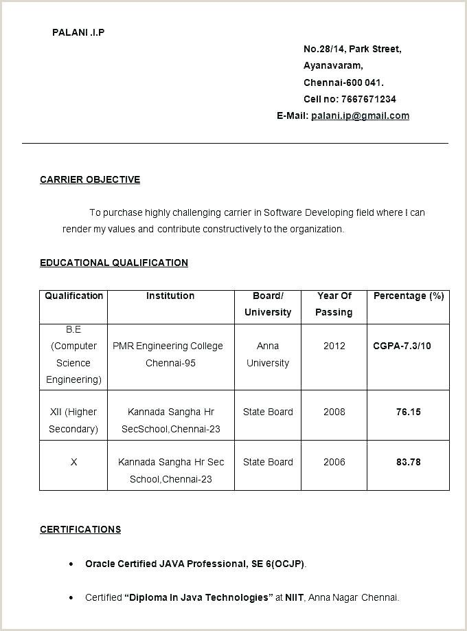 resume format for job interview best examples freshers client facing experience firewall Resume Interview Resume Format For Freshers