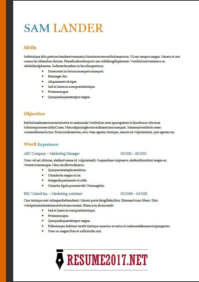 resume format latest templates in word pertaining to functional resu template sample Resume Functional Resume Example 2018