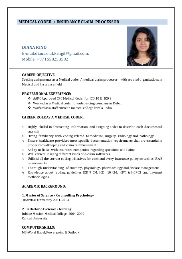 resume medical coder objective for coding holes making the perfect computer skills cdl Resume Objective For Medical Coding Resume