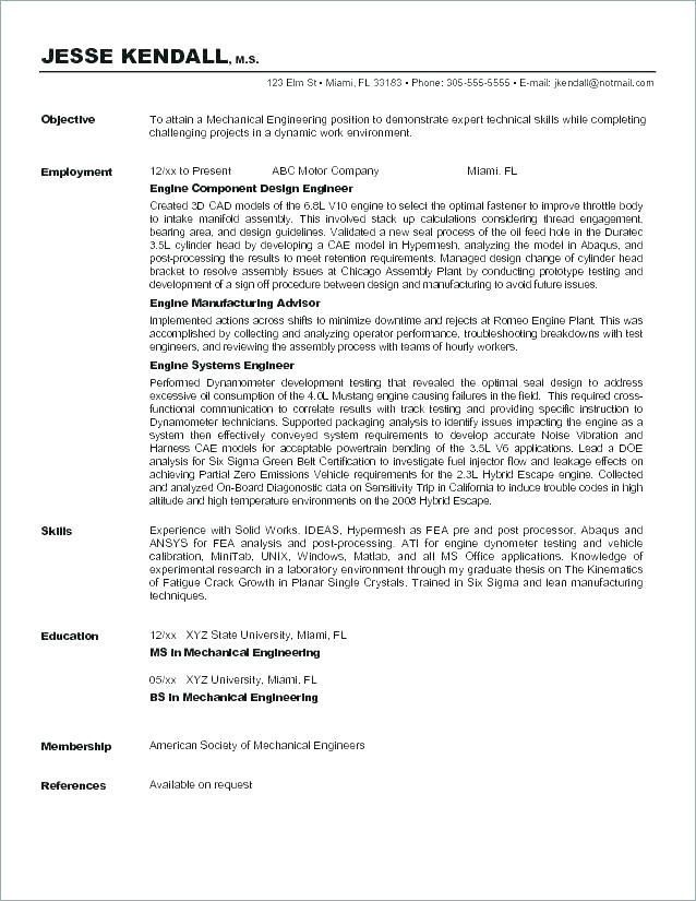 resume objective templates nursing sample examples career objectives for mechanical Resume Mechanical Engineering Resume Objective