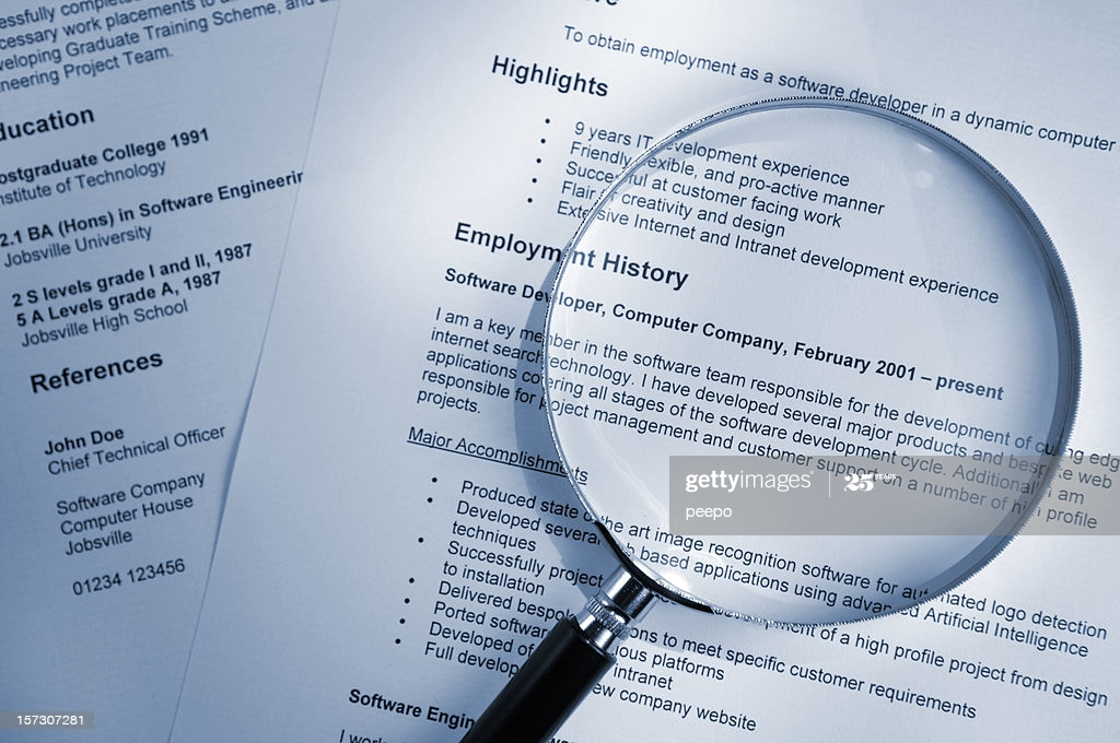 resume photos and premium high res pictures getty images free stock cdl end server Resume Free Stock Photos Resume