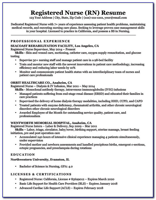 resume sample for nurses without experience vincegray2014 lpn clinical professional Resume Sample Lpn Resume Clinical Experience