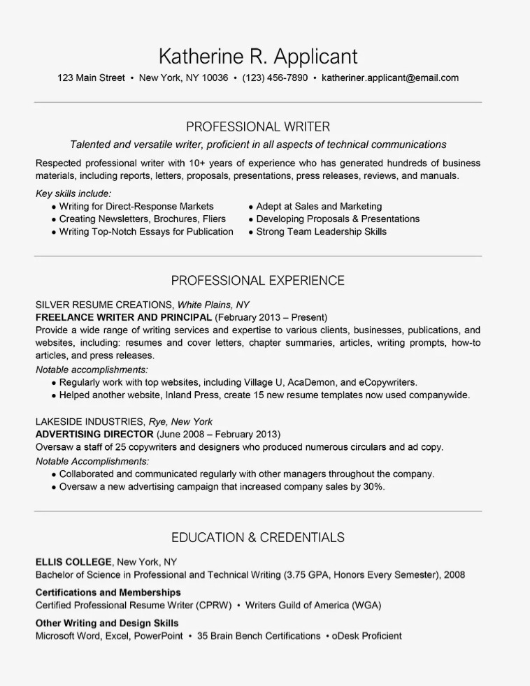 resume samples for freelancers in the freelance work experience sample bank employee Resume Freelance Work Experience Resume