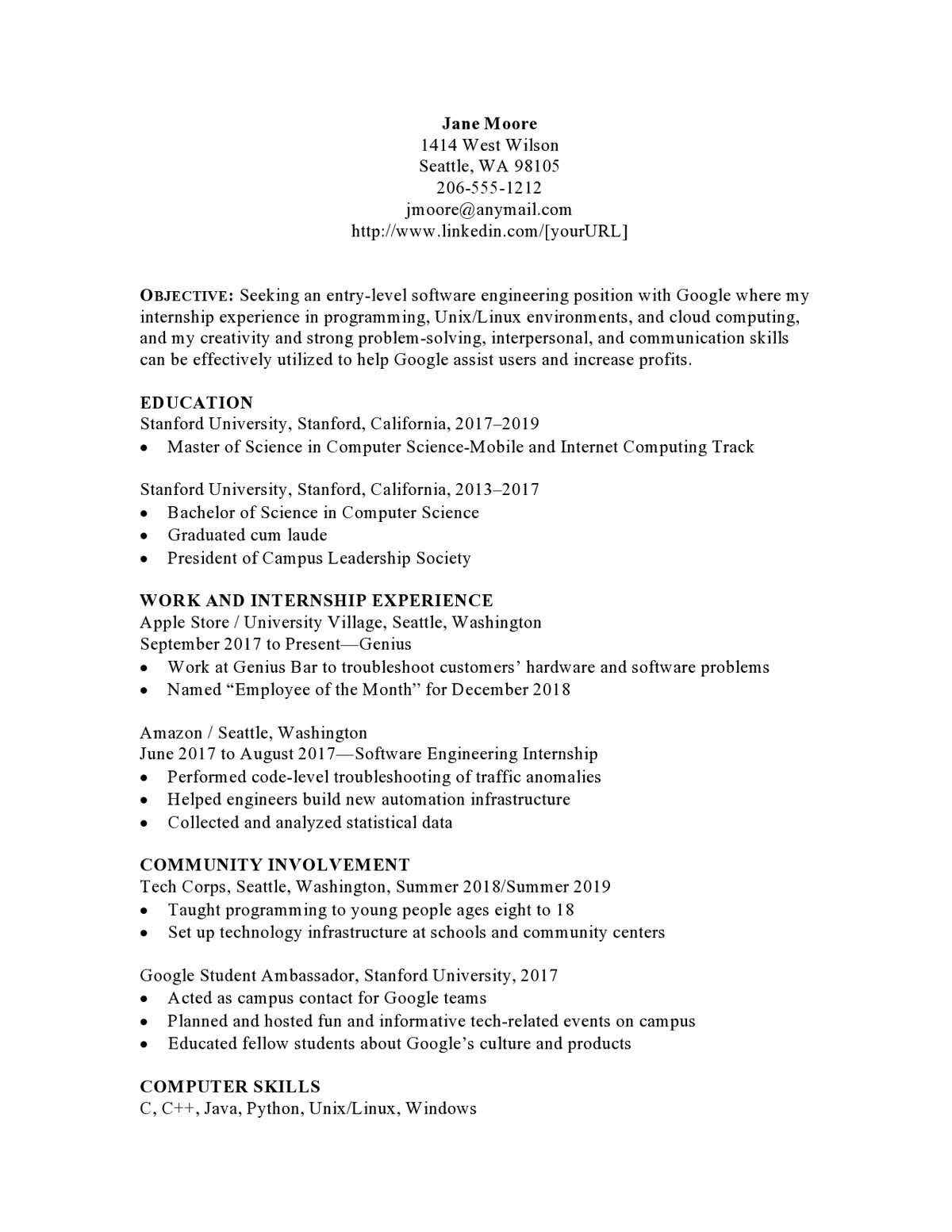 resume samples templates examples vault sample objective for tourism students Resume Sample Resume Objective For Tourism Students