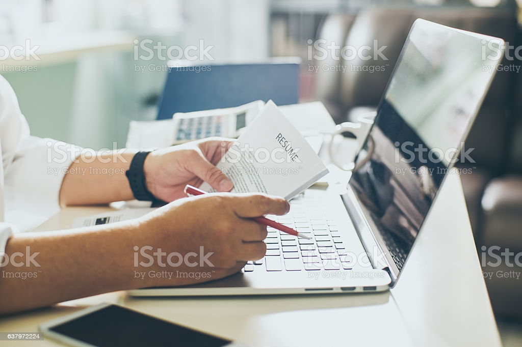 resume stock photos pictures royalty free images office manager objective portfolio vs Resume Free Stock Photos Resume
