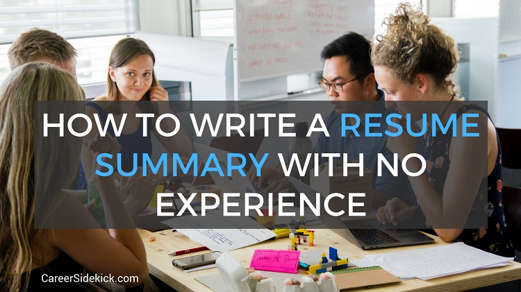 resume summary with no experience examples for students and fresh graduates career Resume Resume For Fresh Graduate Seeking Any Job