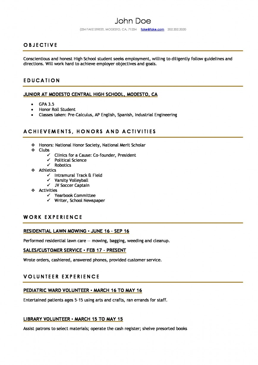 resume template for highschool students addictionary help high school incredible Resume Resume Help For High School Students