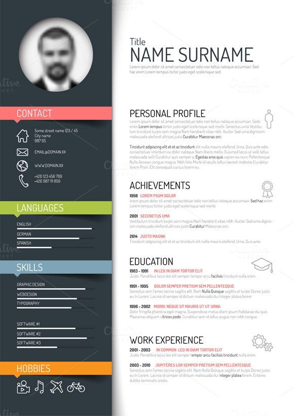 resume template free word creative design modern templates for ats friendly sample Resume Free Modern Resume Templates For Word