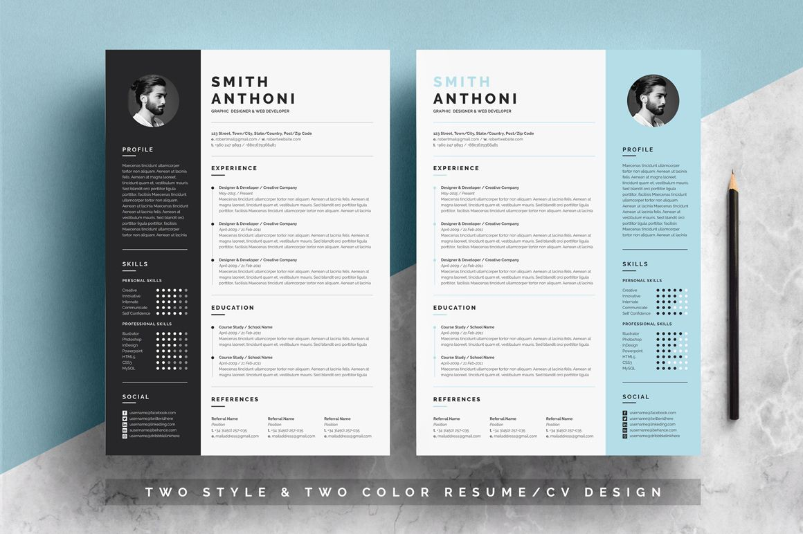 resume template pixelify best free fonts mockups templates and vectors one clean Resume Free Outstanding Resume Templates
