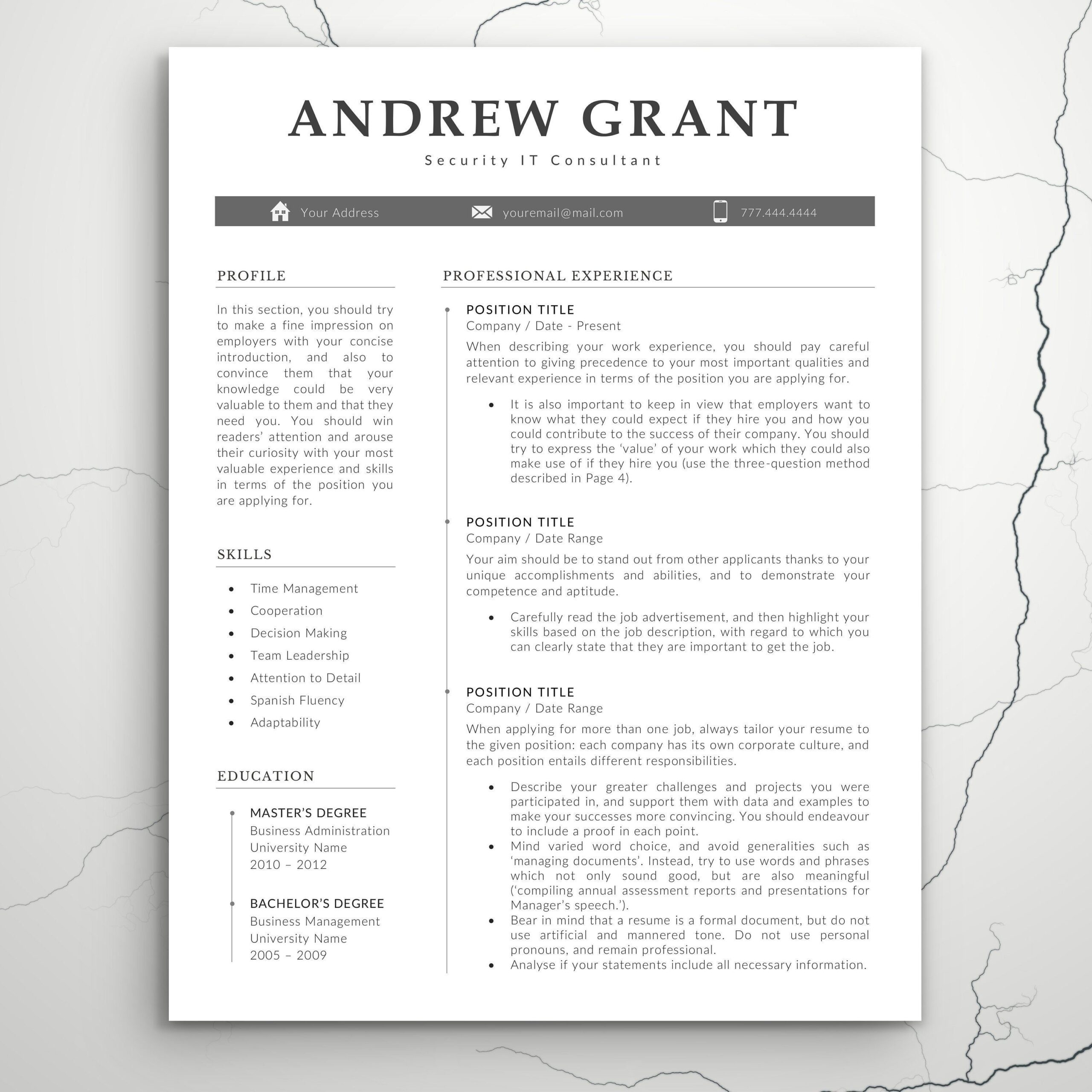 resume template word modern etsy teacher should pay for headline student federal Resume Should I Pay For A Resume