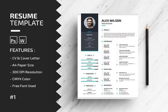 resume templates design by wap on creative market resumes tn home of inspiration ideas Resume Creative Market Resume Free